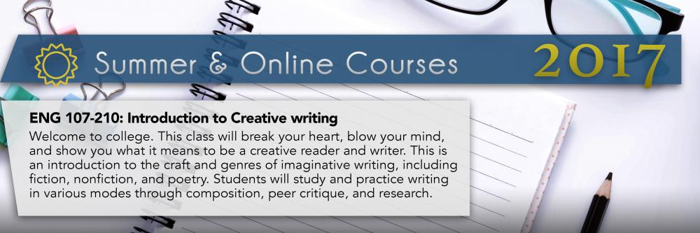 summer course creative writing Summer 2018 creative writing courses at cal - see below and visit summer sessions 2018 to find approved literature courses offered during summer 2018, compare the approved list of literature courses on the creative writing minor website with the.