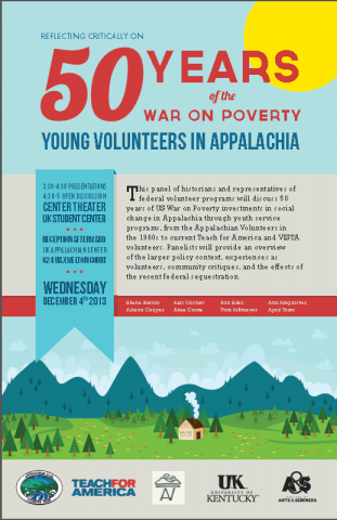 Reflecting Critically on 50 Years of the War on Poverty: Young Volunteers in Appalachia