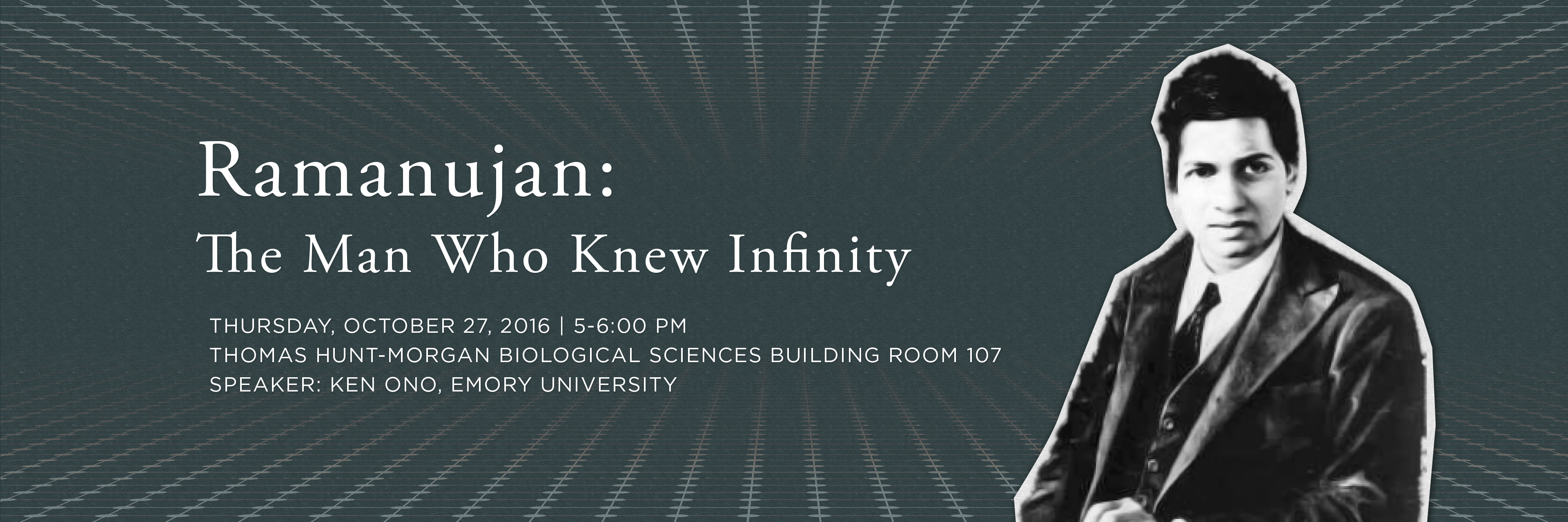 Ramanujan The Man Who Knew Infinity College Of Arts Amp Sciences