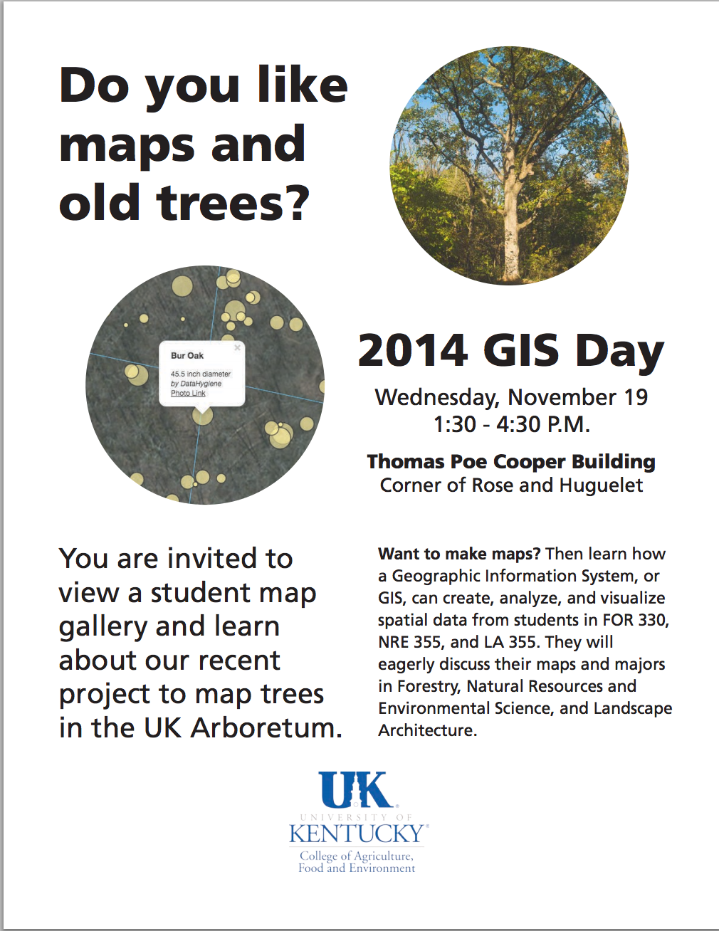 2014 GIS Day at University of Kentucky