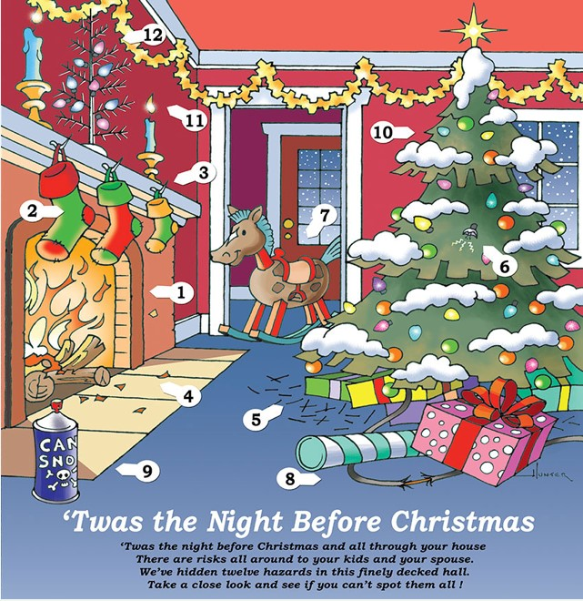 'Twas The Night Before Christmas Safety:
