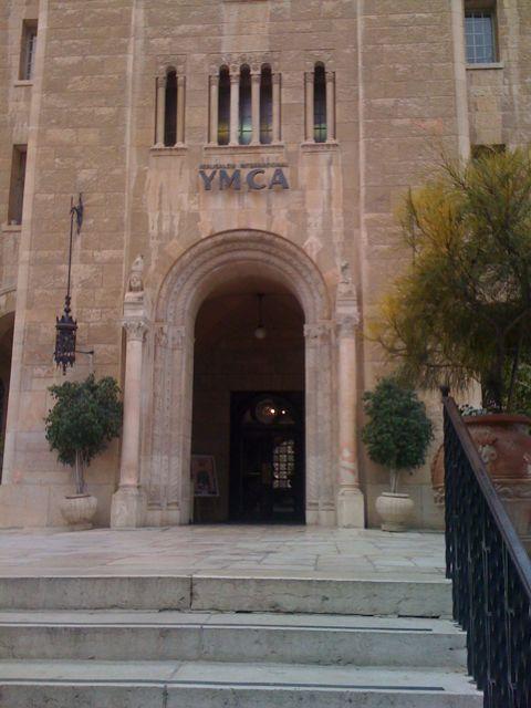 Entrance to Jerusalem YMCA