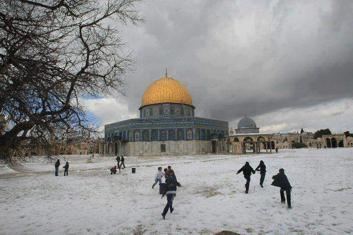 Snowy Al-Aqsa