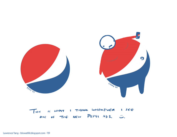 Yang's Take on Pepsi's New Logo