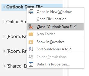 Import Outlook archive into Office365 online archive | College of