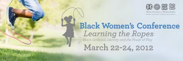 black women's conference banner