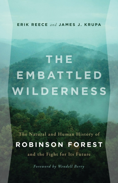 """The Embattled Wilderness"" Book Cover"