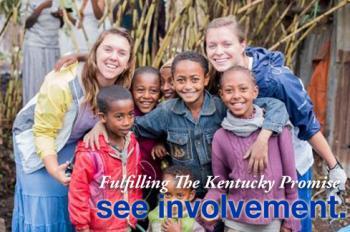 UK students with children in Ethiopia