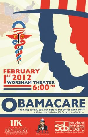 obama care poster