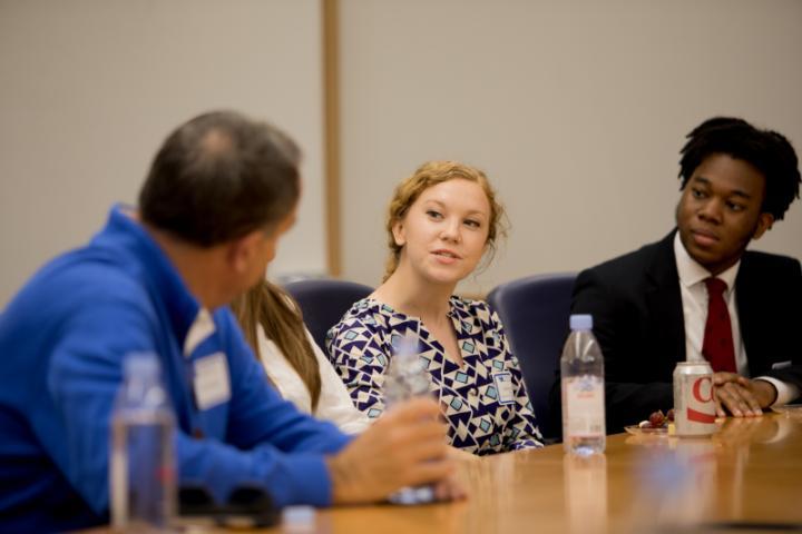 trunzo scholars meet donor